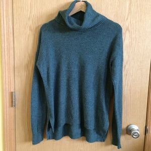 Madewell Ribbed Turtleneck Sweater